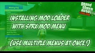 GTA 5 ONLINE: Installing A Mod Menu Loader & SPRX Menu Together! (Majestic Mod Loader v1.3.7)