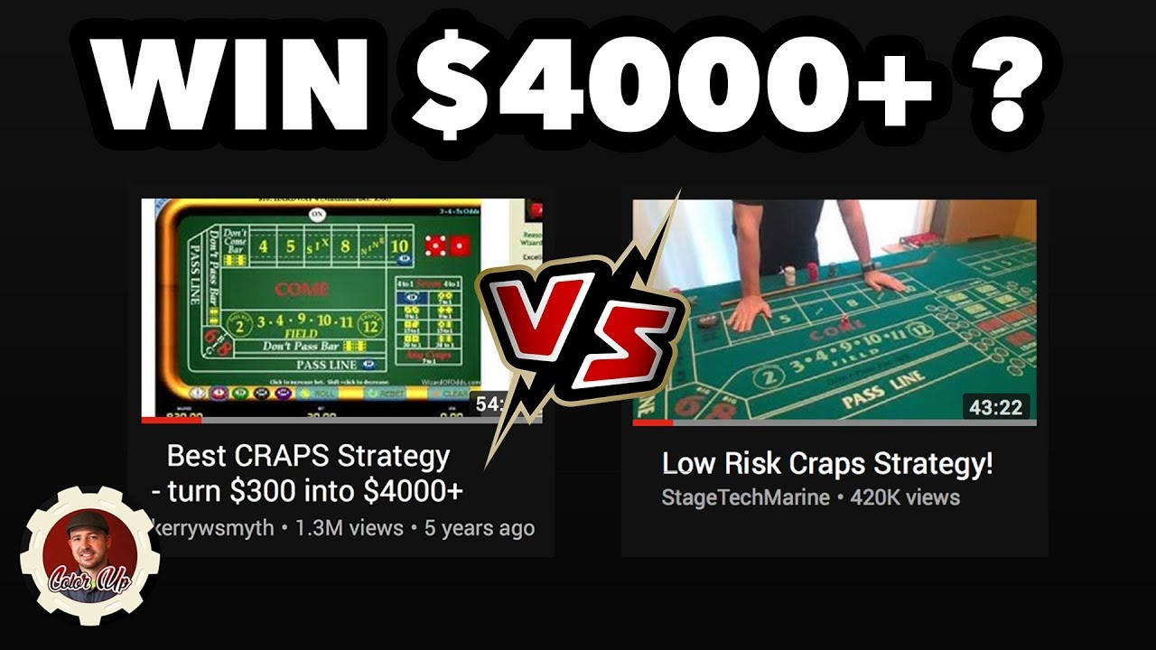 The Best Craps Strategy