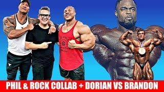 Baixar Phil Heath & The Rock Collab? Athleticon 2020 + Dorian VS Brandon Continues + Cedric McMillan Posing