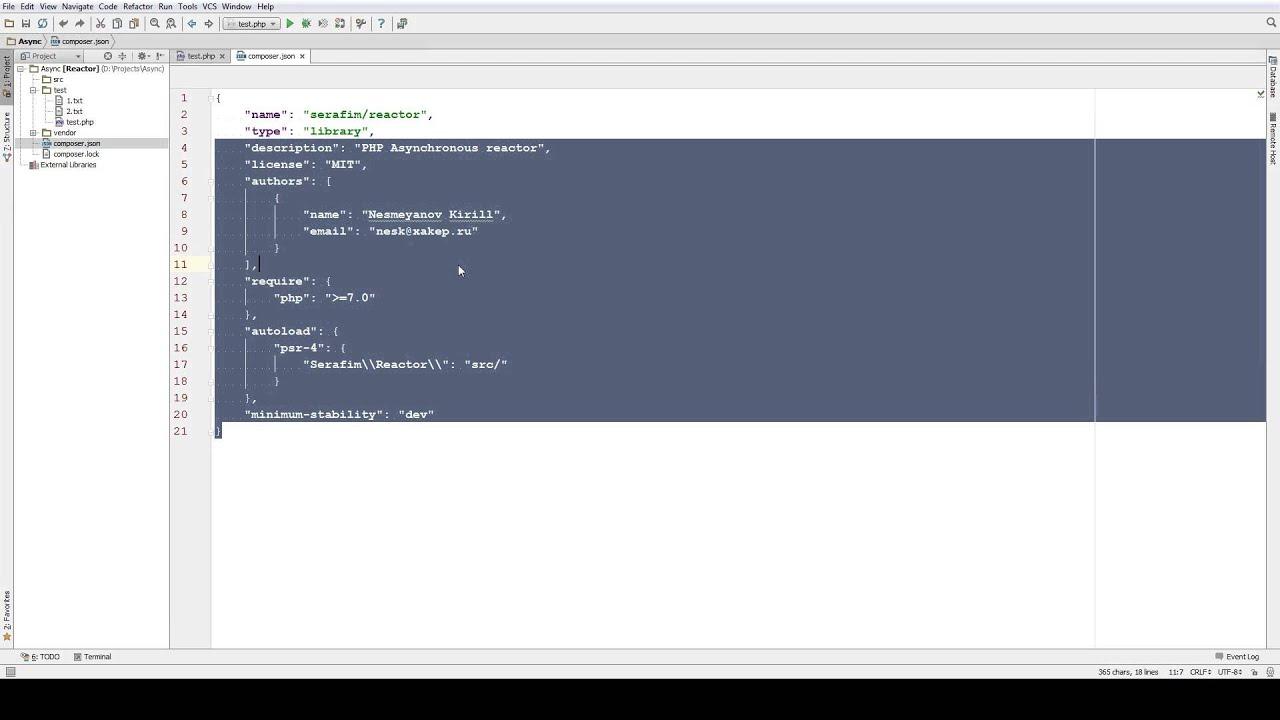 Асинхронный PHP