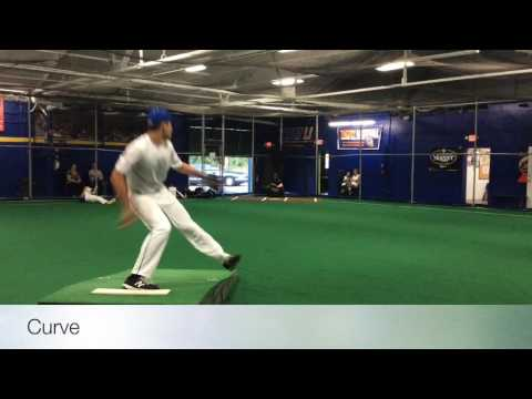 2017 Angus McCloskey - RHP 1B - FARMINGDALE HS,NY - College Baseball Recruit
