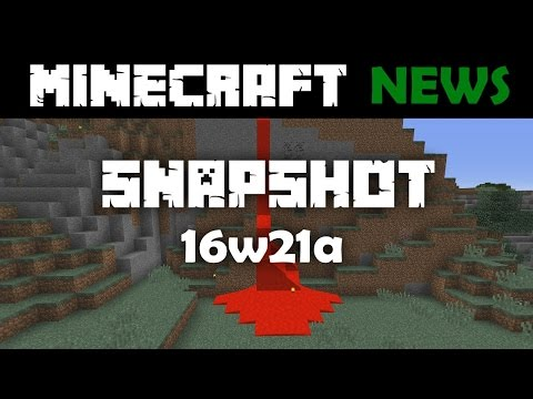 What's New in Minecraft Snapshot 16w21a? (Reupload)