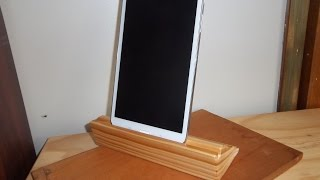 Making A Simple Wooden Tablet/ipad Stand