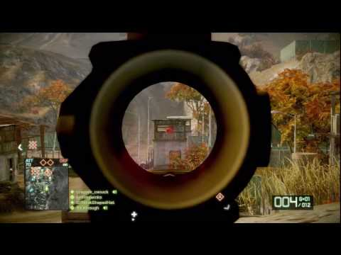 Battlefield Bad Company 2: Recon-Assault M95 HD Gameplay