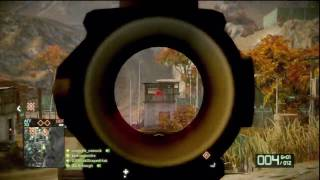 Battlefield Bad Company 2: Recon-Assault M95 HD Gameplay