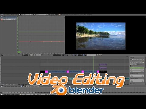 How to Edit Videos in Blender!