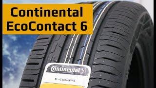 Continental EcoContact 6 /// Обзор