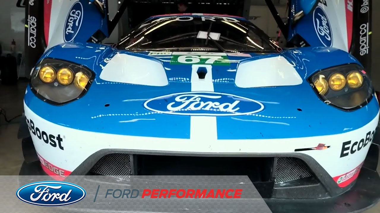 Ford Gt Feels The Heat At Nurburgring Fia World Endurance Ford Performance