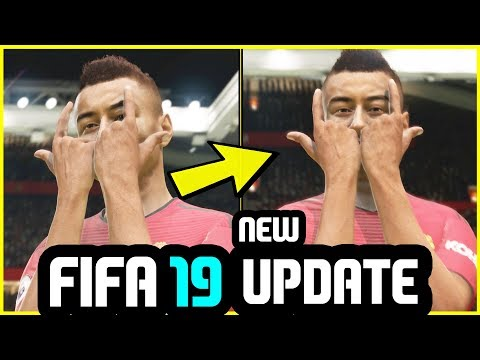 FIFA 19 NEW UPDATE - NEW Lingard Signature Celebration Added