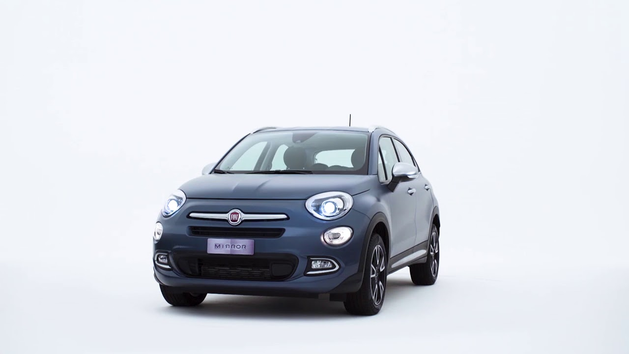 fiat 500x mirror apple carplay youtube. Black Bedroom Furniture Sets. Home Design Ideas