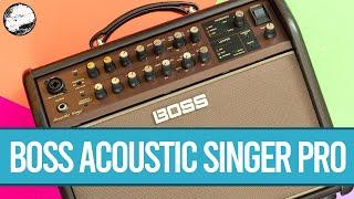 BOSS Acoustic Singer Pro Amplifier | World of Music