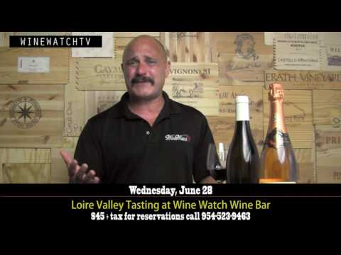 Loire Valley Tasting at The Wine Bar by Wine Watch - click image for video