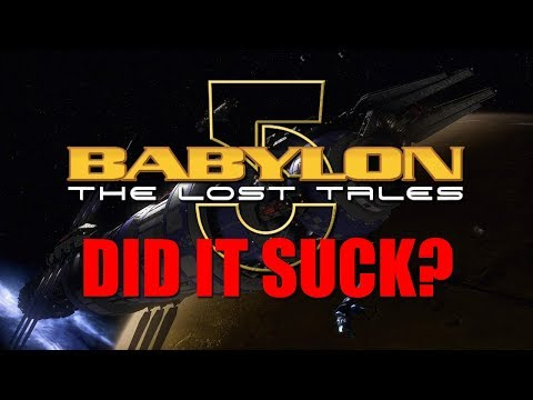 BABYLON 5: THE LOST TALES - DID IT SUCK?
