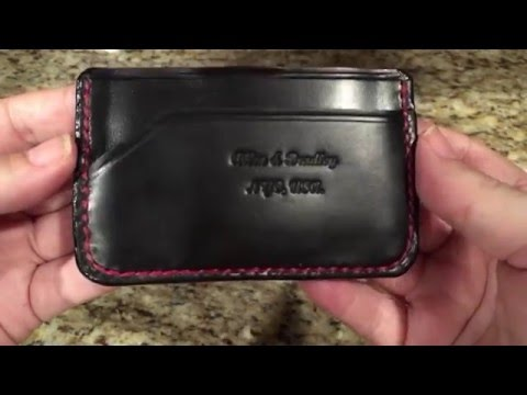 Allen and Bradley minimalist wallet