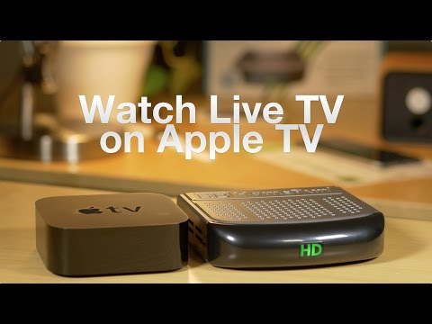 Cord cutting with Apple TV w/ HDHomeRun + Kodi