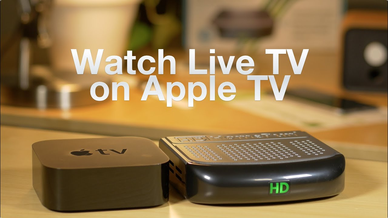 How to watch local live TV on Apple TV with an HDHomeRun +