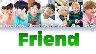 BTOB (비투비) - Friend Lyrics (Color Coded/ENG/ROM/HAN/PTBR) ‬