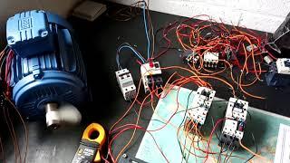 Moteur 2 vitesses logique câble 1, sens de rotation