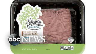 Health alert issued for salmonella outbreak in raw, ground turkey