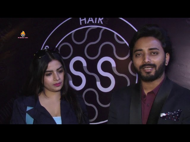 Ashish Shelar along with Tick Tock Stars unveils the Opening Of Sameer Salmani Salon at Bandra