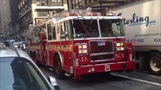 FDNY Responding Compilation 1 Full of Blazing Sirens & Loud Air Horns Throughout New York City