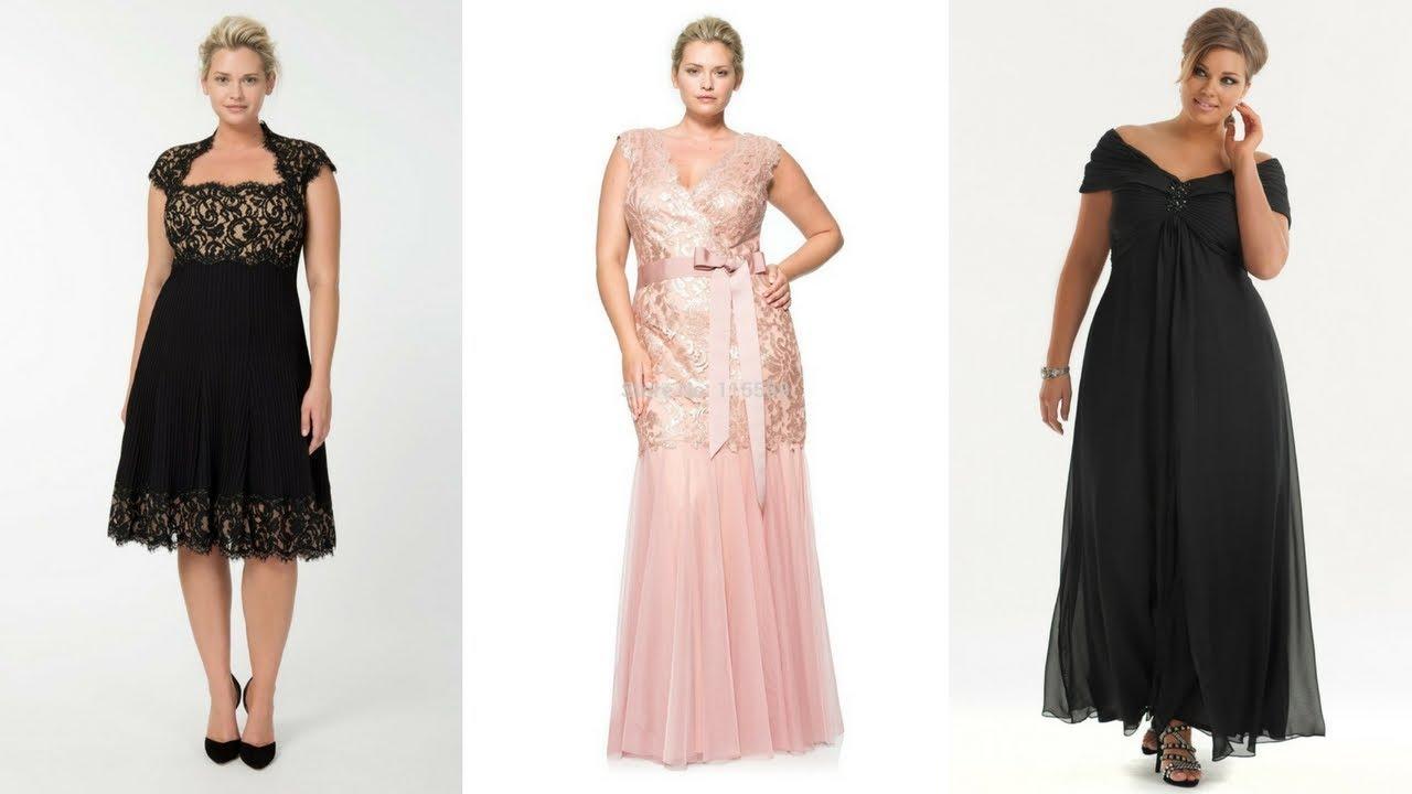 cee6f06f1 VESTIDOS PARA FIESTA PARA GORDITAS ♥  Moda  Fashion  Vestidos  Gorditas