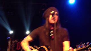 End of Green - Blackened Eyes (acoustic ) - Live in Stuttgart (Die Röhre 26.12.2011)
