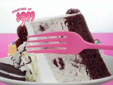 Baskin Robbins Ice Cream and Cake Commercial YouTube