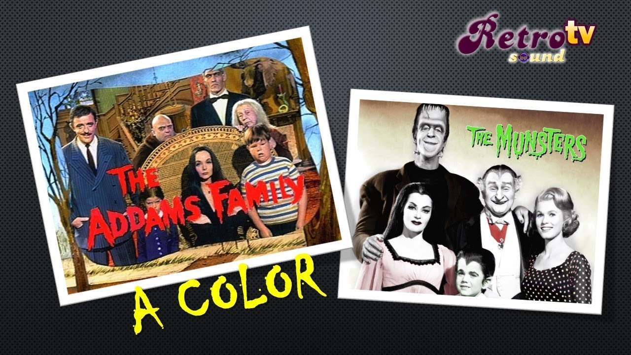 Intro Los Locos Adams & La Familia Monsters A Color (The ...