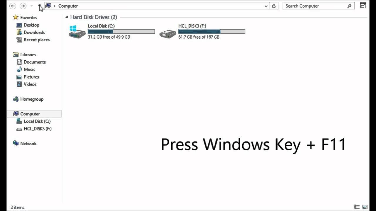How To Hide Title Bar & Ribbon Menu in Programs [Windows ...