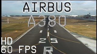 Airbus A380  Approach and Landing in Frankfurt  Capt. Raps' Final Landing (ENG sub)