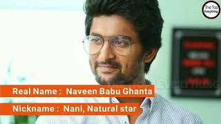 Hero    Natural star Nani  lifestyle...........