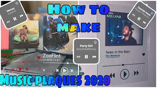 Cricut Music Plaques Tutorial 2020 Easy Beginner Friendly