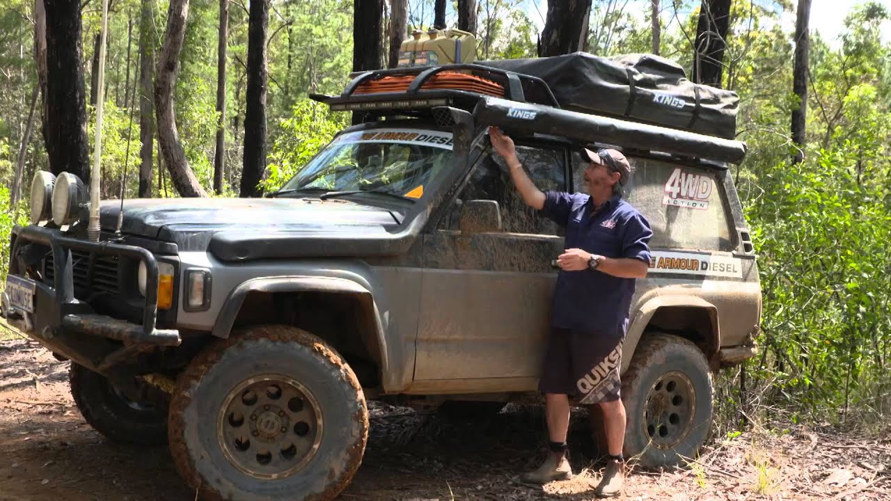 See How Graham Positions His Adventure Kings Awning To Protect It In Thick  Scrub!   YouTube