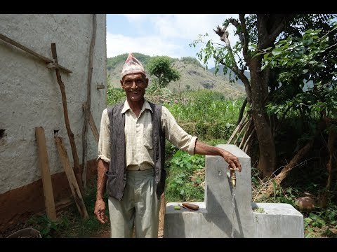 Solar-powered water pumping in Nepal