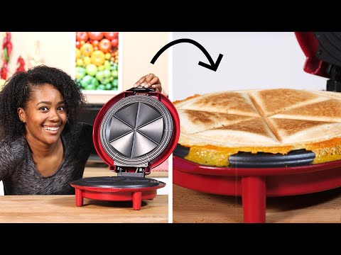I Tested George Foreman's Quesadilla-Maker • Tasty