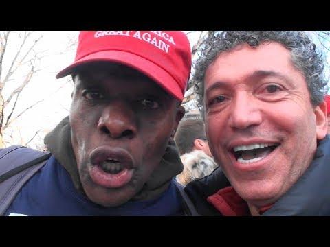 Trump Supporters, Redpill Ken, Ex-USSR Citizen vs. Vile, Obscene, Disgusting Women's Marchers