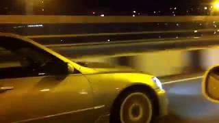 Заезд Altezza 1JZ GTE VVTi  vs Toyota Mark II TourerV jzx90 1JZ GTE VVTi  ч2