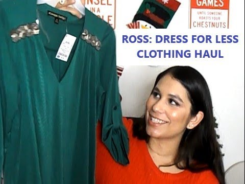 25f8dd0bc0fd4 LARGE ROSS CLOTHING HAUL - YouTube