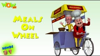 Motu Patlu Cartoons In Hindi |  Animated movie | meals on wheels | Wow Kidz