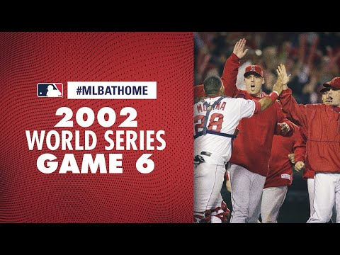 2002 World Series Game 6 (Angels Vs. Giants) | #MLBAtHome