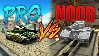 Tanki Online - PRO vs NOOB #1 (funny video) by ali202LM