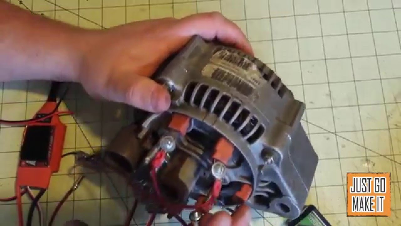 Alternator To Motor Conversion Howto Youtube Deutz Wiring Diagram