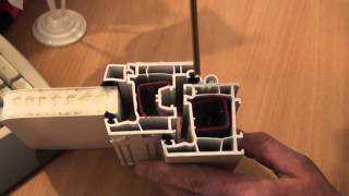 видео Установка противовзломной фурнитуры в окна Salamander