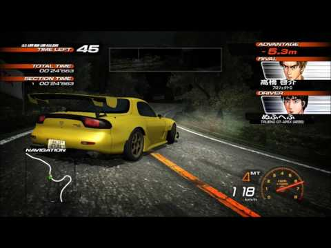 Initial D Extreme Stage (Takumi's 86) VS Project D Keisuke