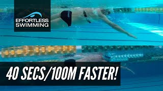 [CASE STUDY] Triathlete Goes From 2:20 to 1:40/100m Pace In 2 Years