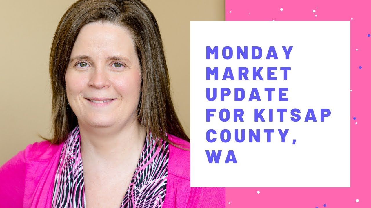 Monday Market Update for Kitsap County Wa