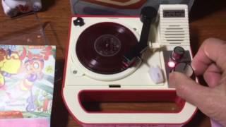 8盤レコード専用ポータブルプレイヤー 朝日ソノラマセレクション Part 1...