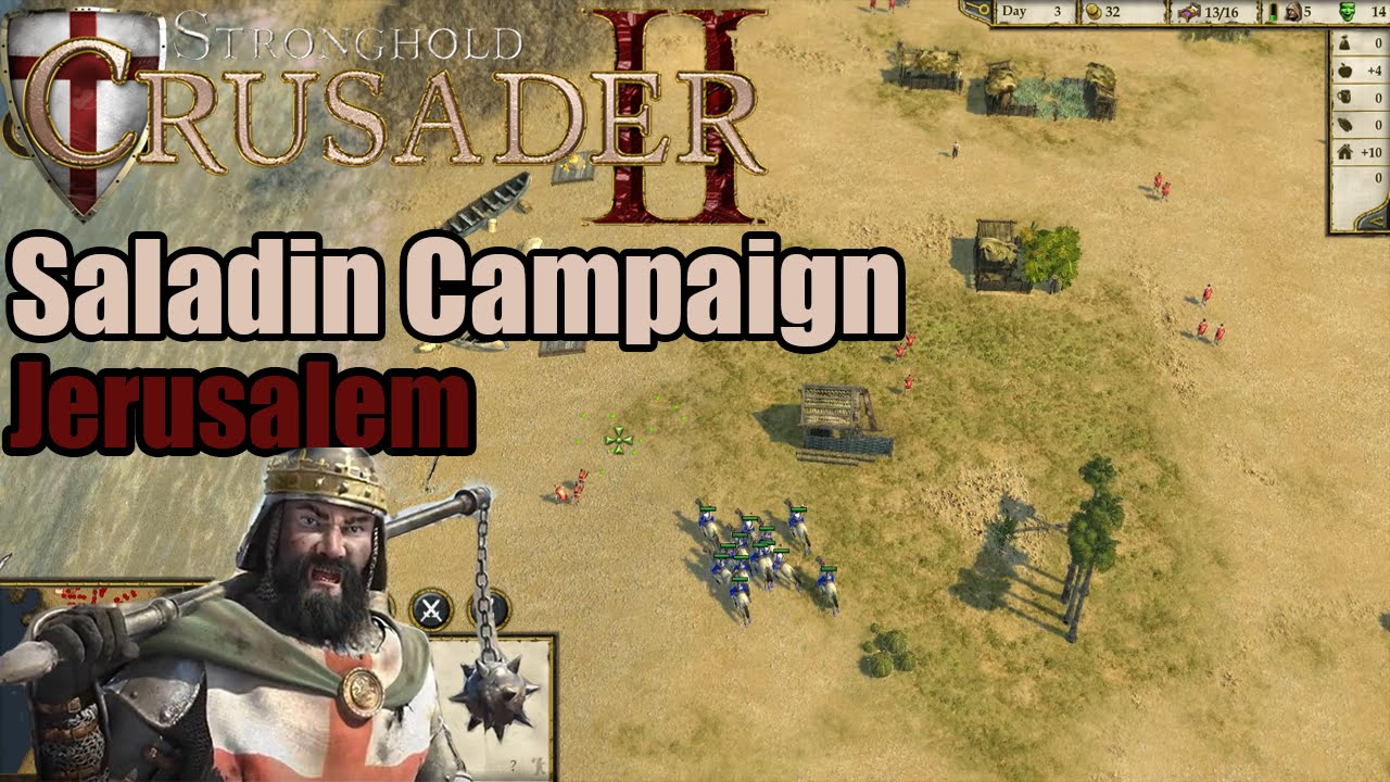 stronghold crusader 2 meet saladin ahmed