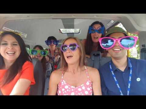 Staff Carpool Karaoke
